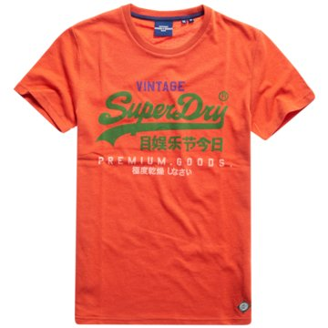 Superdry T-Shirts basic orange