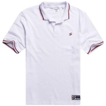 Superdry Poloshirts weiß