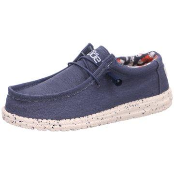 Hey Dude Shoes Mokassin Schnürschuh grau