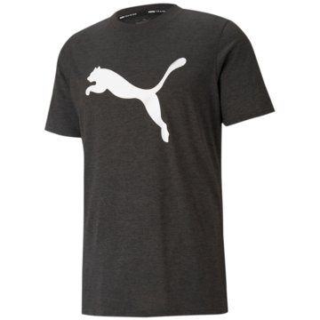 Puma T-ShirtsTRAIN FAV HEATHER CAT SS T - 520139 grau