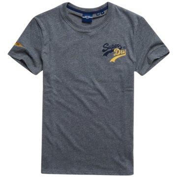 Superdry T-Shirts basic grau