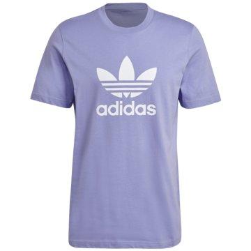 adidas T-Shirts print blau