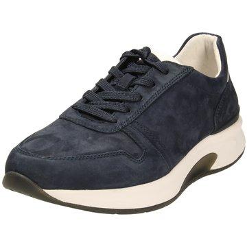 Pius Gabor Komfort SchnürschuhSneaker blau