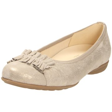 Gabor comfort Klassischer Ballerina beige