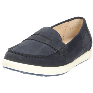 Gabor comfort Mokassin Slipper blau