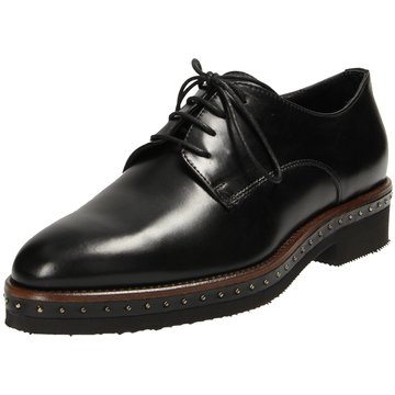 Maripé Eleganter Schnürschuh schwarz