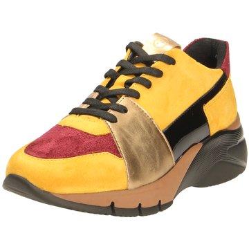 Tamaris Komfort SchnürschuhSneaker gelb