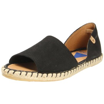 Verbenas Espadrilles Sandalen schwarz