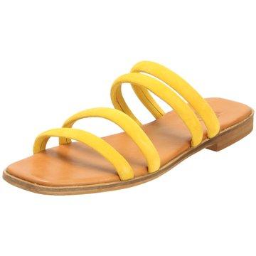 Apple of Eden Klassische Pantolette gelb