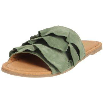 Apple of Eden Top Trends Pantoletten grün