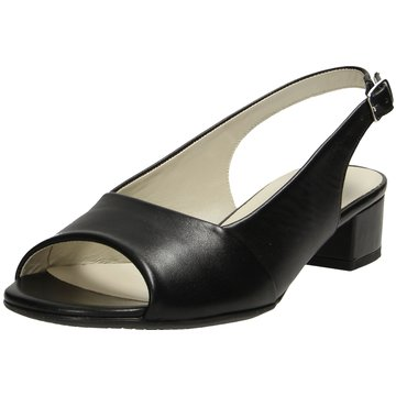 Sioux Komfort Sandale schwarz