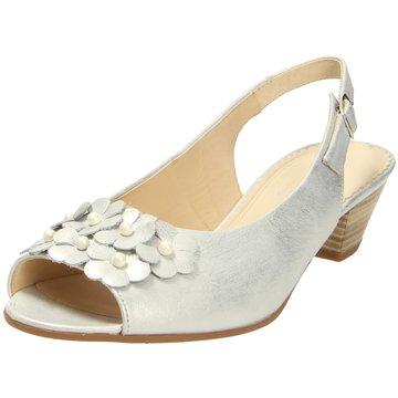 Gabor Komfort Sandale silber