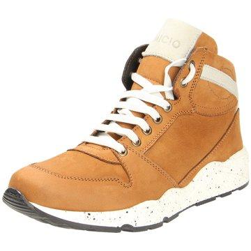 Micio Sneaker High braun