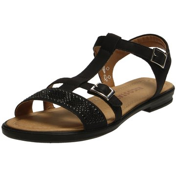 Ricosta Komfort Sandale schwarz