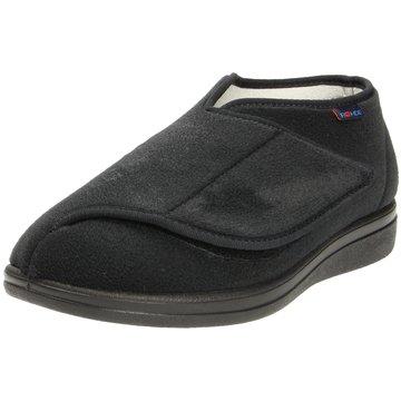 Rohde Komfort Slipper schwarz