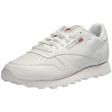 Classic Leather Damen Sneaker weiß weiß