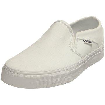 Vans Sportlicher SlipperAsher weiß
