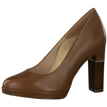 Pumps Tamaris Gr. 37, Damenschuhe, grau, taupe uni, High Heels, 6 12