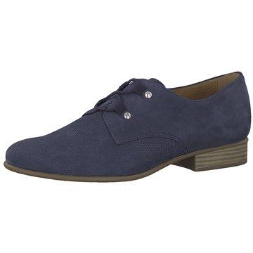 Tamaris Klassischer Schnürschuh blau