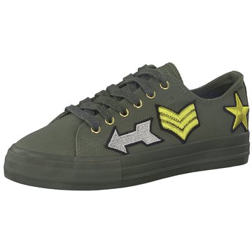 Tamaris Top Trends Sneaker oliv
