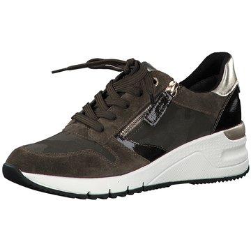 Tamaris Sneaker Wedges grün
