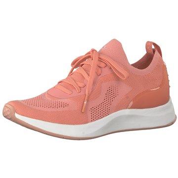 Tamaris Sneaker LowDa.-Schnürer rot