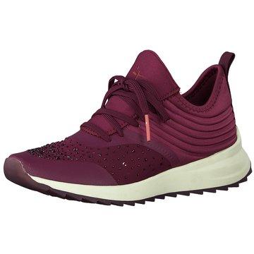 Tamaris Sportlicher SchnürschuhSneaker lila