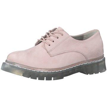 Tamaris Top Trends Schnürschuhe rosa