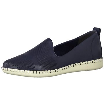 Tamaris Komfort Slipper blau