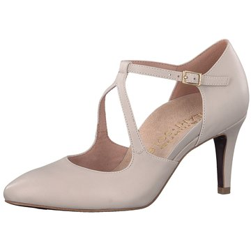 Tamaris T-Steg Pumps beige