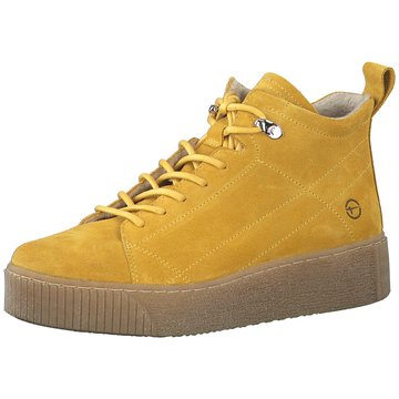 Tamaris Sneaker High gelb