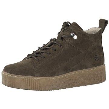 Tamaris Sneaker High grün