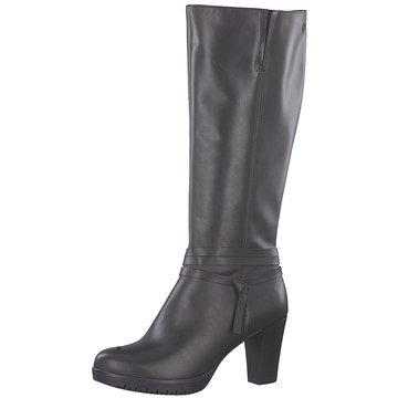 WHAT FOR Damen Stiefel Schuhe 40 41 Schwarz Leder Absatz