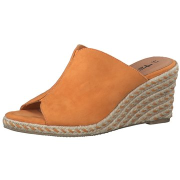 Tamaris Espadrilles Pantoletten orange