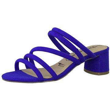 Tamaris Klassische Pantolette blau