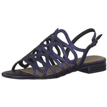 Tamaris Sandale blau