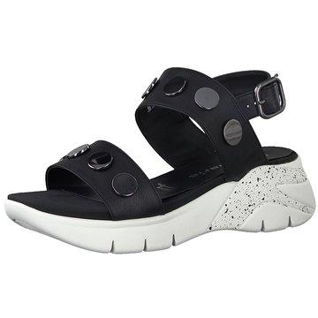 Tamaris Komfort Sandale schwarz