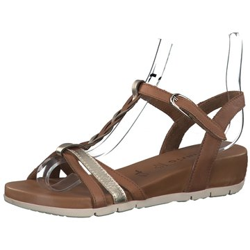 Tamaris Komfort Sandale braun