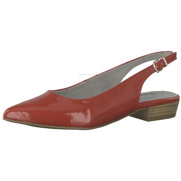 Tamaris Top Trends Ballerinas rot