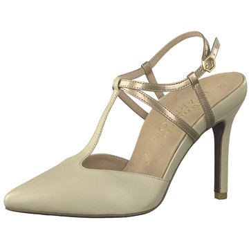 Tamaris T-Steg PumpsHeart and Sole beige