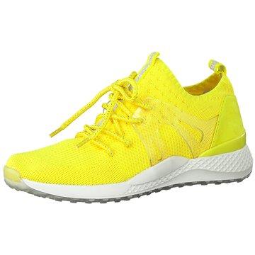 Marco Tozzi Sneaker Low gelb