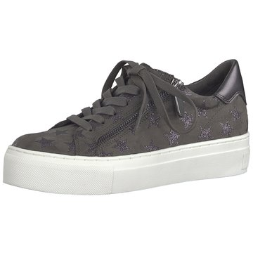Marco Tozzi Sneaker Low grau