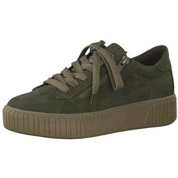 Marco Tozzi Sneaker Low grün