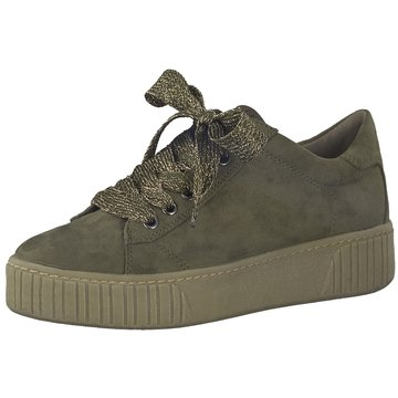 Marco Tozzi Plateau Sneaker oliv