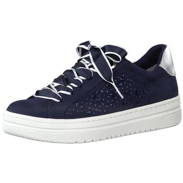 Marco Tozzi Sneaker LowDa.-Schnürer blau