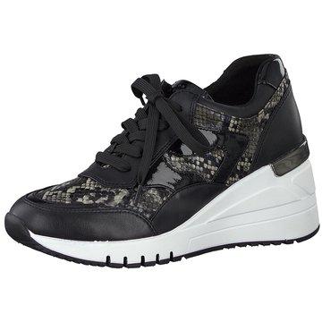 Marco Tozzi Sneaker Wedges schwarz