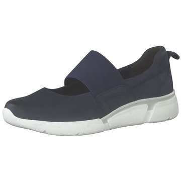 Marco Tozzi Sportlicher Slipper blau