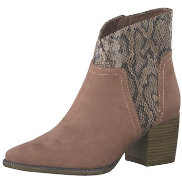 Marco Tozzi Ankle Boot rosa