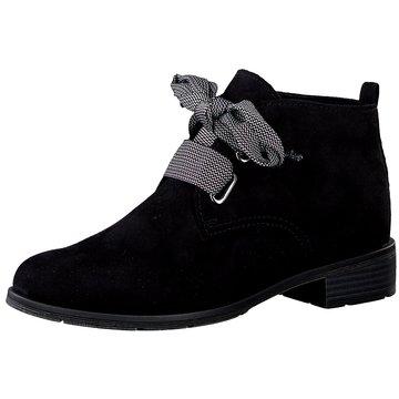 Marco Tozzi Komfort Stiefelette schwarz