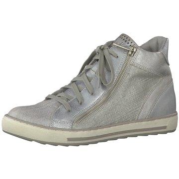 Marco Tozzi Sneaker High silber
